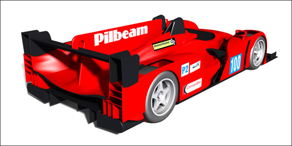 Pilbeam MP100 LMP2 2014 Le Mans WEC