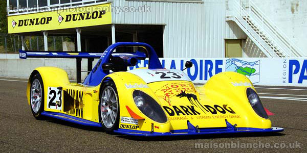 Pilbeam at the Le Mans 24 Hours 2003