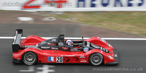 Pilbeam at the Le Mans 24 Hours 2005